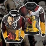 One Punch Man New Look Unisex 3D Hoodie