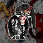One Piece - Luffy New Version Unisex 3D Hoodie