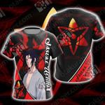 Naruto - Sasuke Uchiha New Style Unisex 3D T-shirt