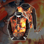 One Piece - Ace New Unisex 3D Hoodie