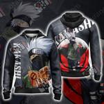 Naruto - Kakashi New Look Unisex Zip Up Hoodie