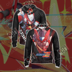 Mega Man - Zero Unisex Version 2020 Unisex Zip Up Hoodie