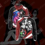 Yu Yu Hakusho Characters New Style Unisex Zip Up Hoodie