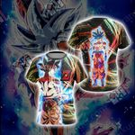 Dragon Ball Z - Ultra Instinct Unisex 3D T-shirt