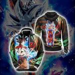 Dragon Ball Z - Ultra Instinct Unisex 3D Hoodie