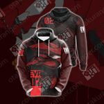 Neon Genesis Evangelion - Eva unit 02 Unisex 3D Hoodie