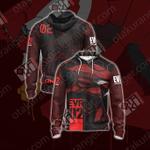 Neon Genesis Evangelion - Eva unit 02 Unisex Zip Up Hoodie