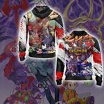 Digimon - Tentomon Unisex Zip Up Hoodie