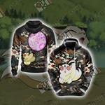 Inuyasha - Kirara Unisex 3D Hoodie