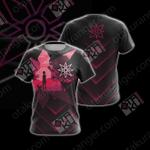 Digimon The Crest Of Light New Unisex 3D T-shirt