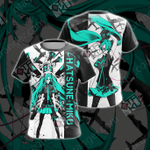 Hatsune Miku New Look Unisex 3D T-shirt