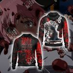 Future Diary - Mirai Nikki New Look Unisex Zip Up Hoodie