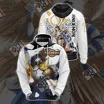 Digimon - Angemon Unisex 3D Hoodie