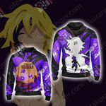 The Seven Deadly Sins - Meliodas Unisex  Zip Up Hoodie