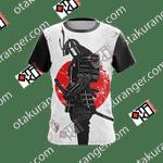 Japanese Samurai Unisex 3D T-shirt