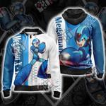 Megaman X - Ver.Ke Unisex Zip Up Hoodie