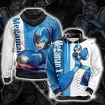 Megaman X - Ver.Ke Unisex 3D Hoodie