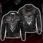 Code Geass - Black Knights Unisex Zip Up Hoodie