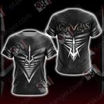 Code Geass - Black Knights Unisex 3D T-shirt