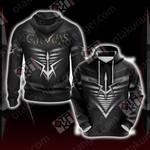 Code Geass - Black Knights Unisex 3D Hoodie