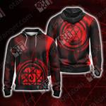 Fullmetal Alchemist - Roy Mustang New Look Unisex Zip Up Hoodie