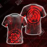 Fullmetal Alchemist - Roy Mustang New Look Unisex 3D T-shirt