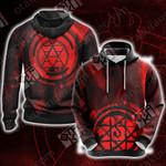 Fullmetal Alchemist - Roy Mustang New Look Unisex 3D Hoodie