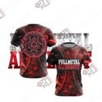 Fullmetal Alchemist New Version Unisex 3D T-shirt