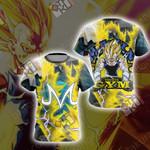Dragon Ball - Majin Vegeta New Unisex 3D T-shirt