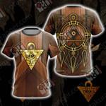 Yugioh - Millennium Puzzle Card Unisex 3D T-shirt