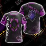 Code Geass Lamperouge Lelouch Unisex 3D T-shirt
