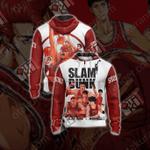 Slam Dunk Unisex Zip Up Hoodie