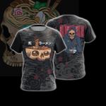 Food Skull Japanese Unisex 3D T-shirt
