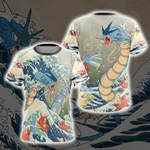 Pokemon - Gyarados Unisex 3D T-shirt