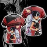 Yu Yu Hakusho - Hiei  And Kurama Unisex 3D T-shirt