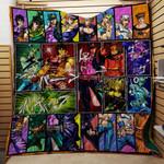 Jojo's Bizarre Adventure 3D Quilt Blanket