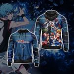 Kuroko's Basketball New Unisex Zip Up Hoodie