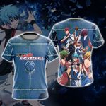 Kuroko's Basketball New Unisex 3D T-shirt