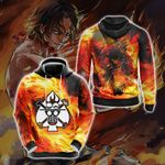 One Piece - Ace New Collection Unisex 3D Hoodie