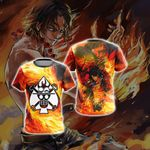 One Piece - Ace New Collection Unisex 3D T-shirt