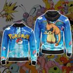 Pokemon New Style Unisex Zip Up Hoodie