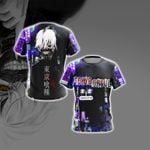 Tokyo Ghoul New Collection Unisex 3D T-shirt
