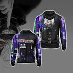 Tokyo Ghoul New Collection Unisex Zip Up Hoodie