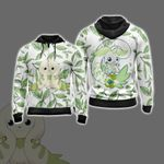 Digimon - Terriermon New Unisex Zip Up Hoodie