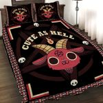 Cute As Hell 3D Quilt Set