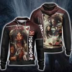 Princess Mononoke Artwork Dump Unisex Zip Up Hoodie