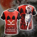 Princess Mononoke New Look Unisex 3D T-shirt