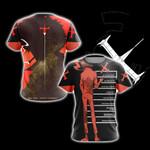 Tengen Toppa Gurren Lagann Nia Teppelin Unisex 3D T-shirt