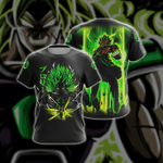 Dragon Ball Z Broly Unisex 3D T-shirt