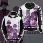 Future Diary New Style Unisex 3D Hoodie